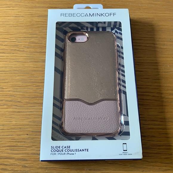 Rebecca Minkoff Slide Case pink iPhone 7